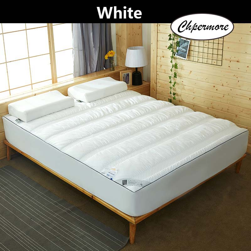 Chpermore 100% Cotton Thickened Mattress 360 Degrees Package Mattresses High Quality Cotton Cover Tatami King Queen Size