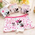 baby girl clothes 4 Pcs/lot Kids Girls Underwear minnie Children Underpants Cartoon Boxer cueca calcinha infantil menina