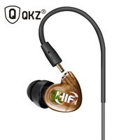Earphone Original QKZ DM215 2016 New Arrival3 5mm In Ear Earphones HIFI Metal Stereo Earphones Super