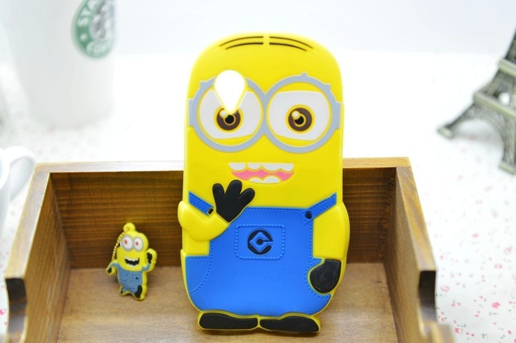 2016 New Come Soft Rubber Silicone Case Despicable 2 minion Cover Google LG Nexus 5 Cases Covers 1 pcs/lot Free Ship - Rose Angel store