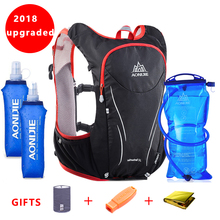 2018 AONIJIE Women Men Marathon Hydration Vest Pack For 1.5L Water Bag Cycling Hiking Bag Outdoor Sport Running Backpack