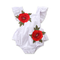 2017 baby rompers Cute Baby Korea Baby Rompers Suits Infant Kids Short Sleeve Kimono Baby Boy Girl Clothes