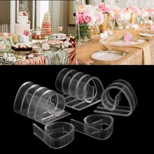 Promotion for 12Pcs Holder Clamp Party Picnic Home Plastic Clear Tablecloth Table Cover Clips DU(China)