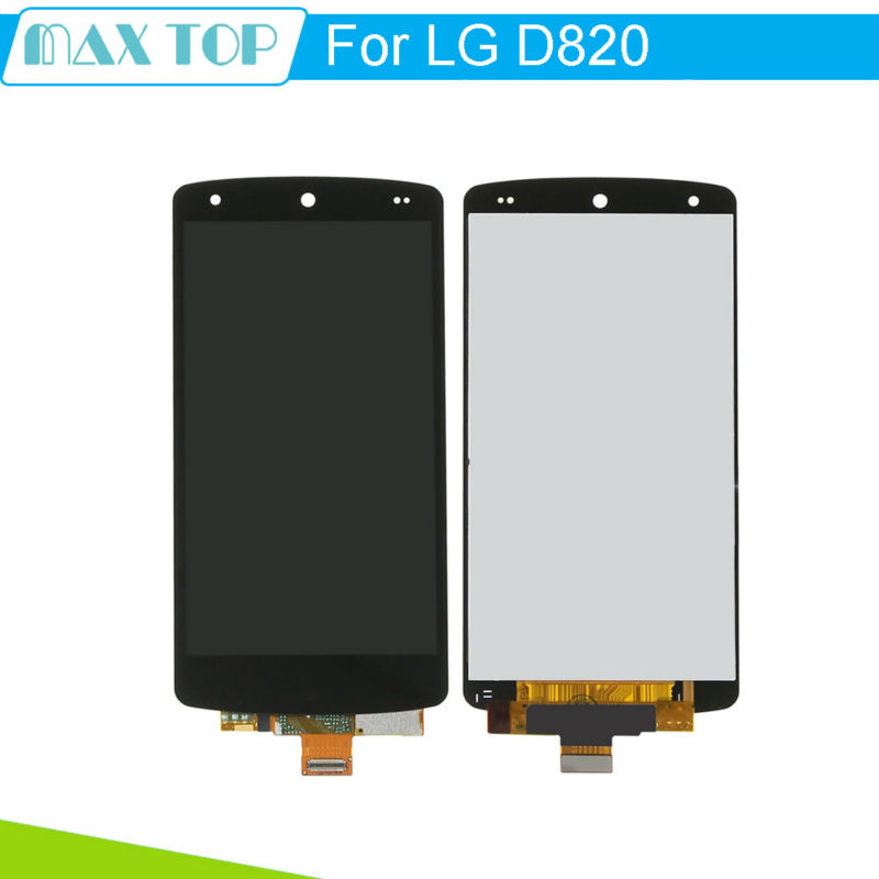 For LG Nexus 5 D820 D821 Black Tested LCD Display Touch Screen Digitizer Full Assembly Without Frame new lcd touch screen digitizer with frame assembly for lg google nexus 5 d820 d821 free shipping