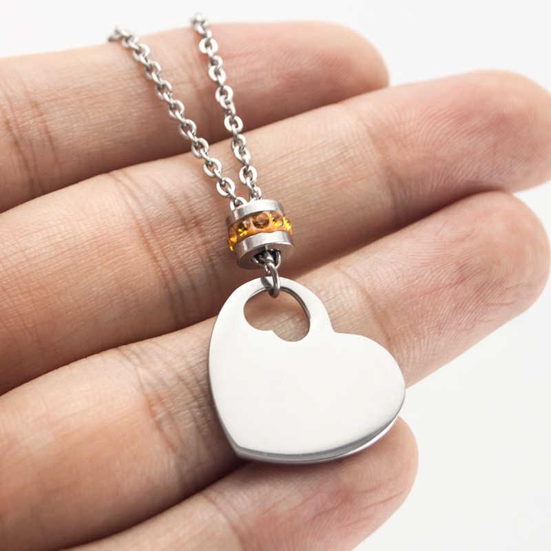 Simsimi смешанные стили рождения камни украшение для чокера счастливый камень для женщин женские ювелирные изделия из нержавеющей стали происхождения модные ожерелья подарок