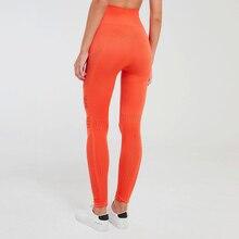 FNMM Newest Women Vital Seamless Leggings High Waist Yoga Pants Elastic Nylon Breathable Workout Leggins Compression