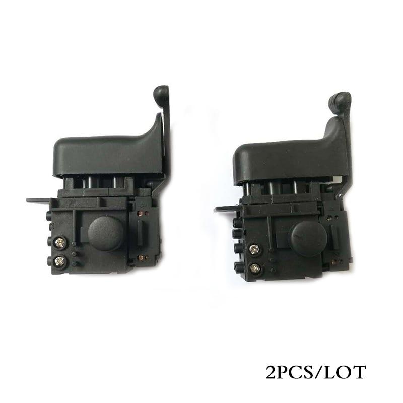 2PCS/LOT, Electric hammer Drill Switch for Makita HR2450 HR2453 DP4010 DP4011 HR2440F HR2440 HR2432 HR2020 HR2641 HR2475