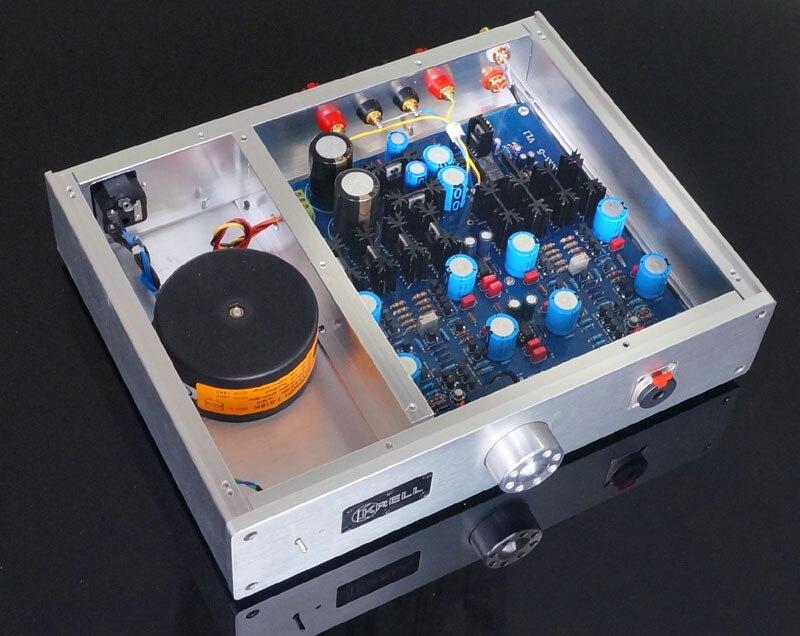 2017 nouvelle Version Audio Breeze se référer à la ligne de Circuit KRELL KSA5 amplificateur de casque DC complet 8 W + 8 W amplificateur de puissance classe A
