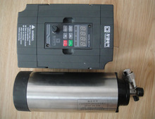 Cnc шпинделя комплект ER11 воздушного охлаждения 1.5KW шпинделя с 4 шт. подшипник + 1 шт. 1.5kw инвертор
