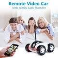 Monitor e controle remoto sem fio da apple android wi-fi câmera de vídeo do carro de brinquedo de controle remoto carro elétrico