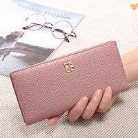 Bestbaoli 2018 Best Deal Women's Wallets Genuine Leather Bags For Women Fashion Designer Purse For Girls Long Card Holder Wallet