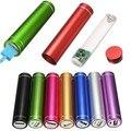 Multicolor USB 5 V 1A portátil Caso del Banco de Potencia 18650 Suite Caja de batería Externa de la batería DIY de Carga Kit Universal de Teléfonos Celulares Gratis soldadura