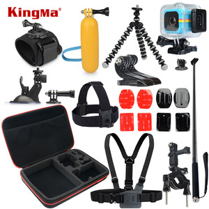 KingMa For Polaroid Cube Waterproof Case 12-in-1 Accessories Kit for Polaroid Cube and Cube+ Accesorios set