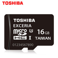 Toshiba Micro Sd Card 16GB Memory Card High Speed Mini Microsd 95MB S SDHC Exceria Sdcard