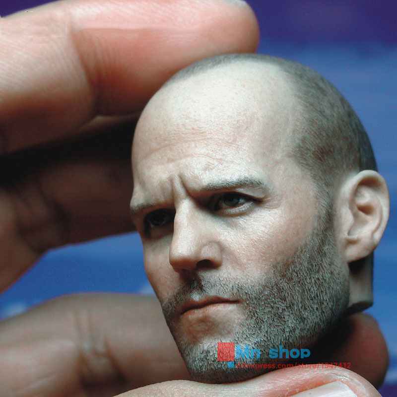 1:6 Action Figure Accessory Custom 1/6 Soldier Jason Statham Head Sculpt Death Squads Head Carving for 12 Figure Doll Toys P45 1 6 soldier clothes death game bruce lee suit head carving fit 12collectible doll toys accessories