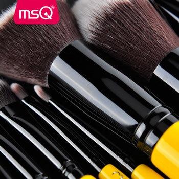 MSQ 10pcs Pro Makeup Brushes Set Face Basic Brush Blending Eyeshadow Lip Make Up Brushes Kit Soft Synthetic Hair Cosmetics Tool 3