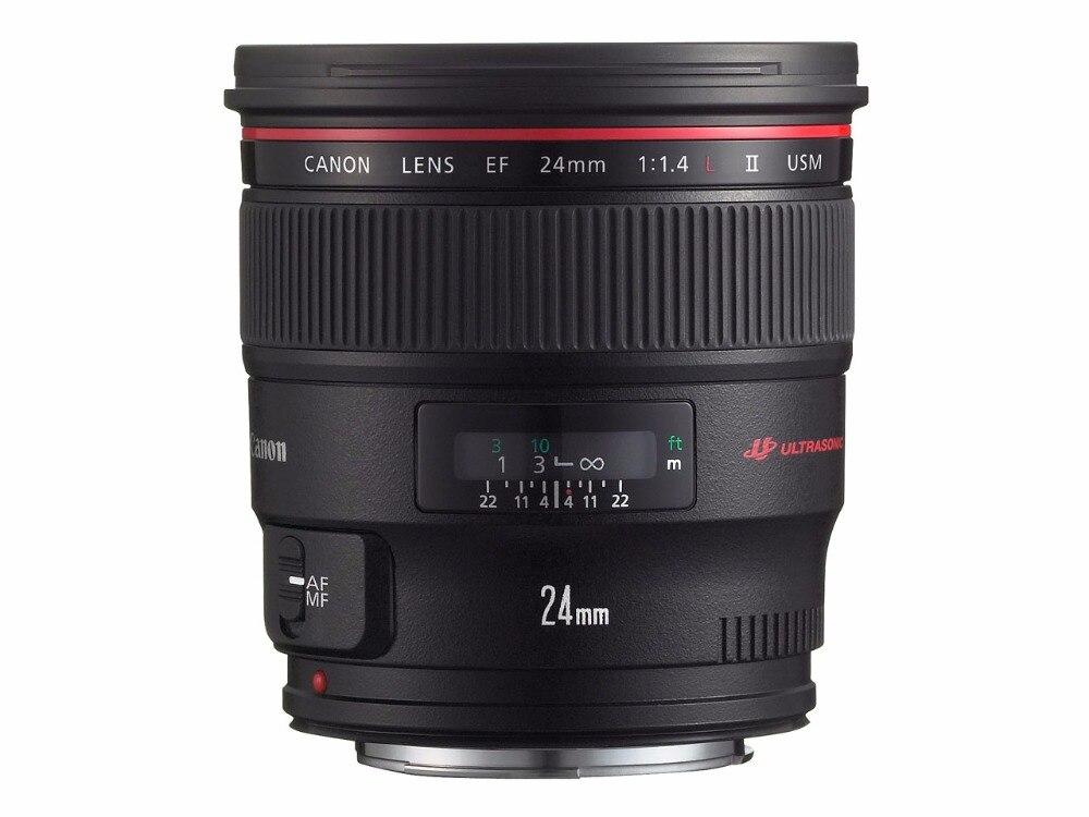 Широкоугольный зум объектив Canon EF 24 мм F/1,4 L II USM для 5D IV 5D III 5DSR 800D 80D 77D 1DX