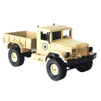 1/16 Military Terrain Truck Vehicle Model 2.4GHz RC Car 4WD Educational Toys Birthday Gift for Children Kids Toddler