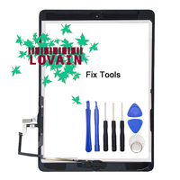 1Pcs New For IPad 9 7 2017 Version IPad 5 A1822 A1823 Touch Screen Digitizer Front