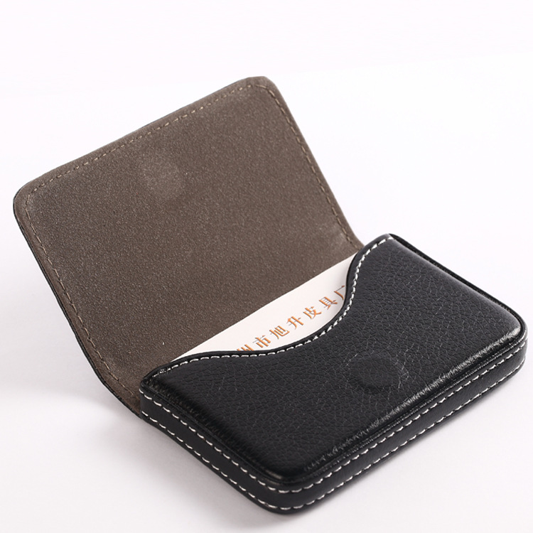 0192edfaa3e Magnetic Fashion business porte carte credit cuir card holder pu aluminium  homme de marque portefeuille women men business cards-in Card   ID Holders  from ...