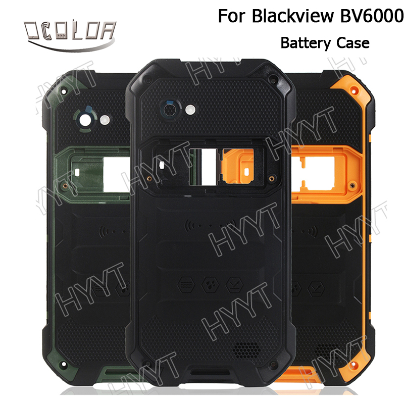 imágenes para Para Blackview BV6000 Batería Caso Original Protector de La Batería Contraportada Fit Reemplazo Para Blackview BV6000 Accesorios Móviles