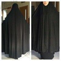 Muslim Women Prayer Dress Maxi Lycra Jilbab abaya ,Wholesale Islamic Khimar,can choose colors,free shipping, PH011