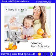 Free shipping Good quality Wheatgrass juicer fruit juicer