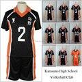 Haikyuu!! Traje Cosplay Karasuno High School de Vôlei Clube Hinata Shyouyou Sportswear Jerseys Uniforme