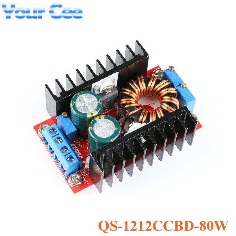 Temperate High Frequency Max 8a Dc-dc Step Up Isolation Booster Power Supply Converter Module Boost Board Solar Battery Charger Charging Punctual Timing Electronic Components & Supplies Active Components