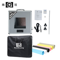 NanGuang NG T4730 Portable Photo Lighting Case Photo Studio Lighting LED Foldio Box 47cm 47cm 10cm