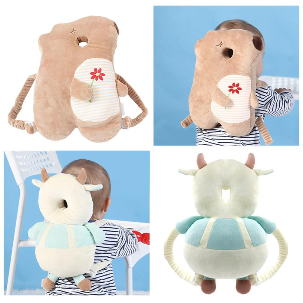 Children Head Protection Pillow Baby Toddler Fall-preventive Headrest Anti-shock Cap Collision Back Pad Baby Cartoon Head Pillow Buy One Get One Free Baby Bedding Back To Search Resultsmother & Kids