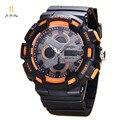 Мода повседневная top brand кварцевые часы мужчины пластиковые спортивные часы деловой человек наручные часы мужской женский световой хронограф час