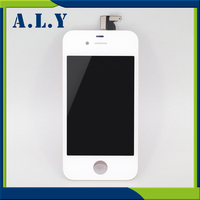 10 LOT A Quality For IPhone 4 LCD Display With Touch Screen Digitizer Assembly Replacement Free