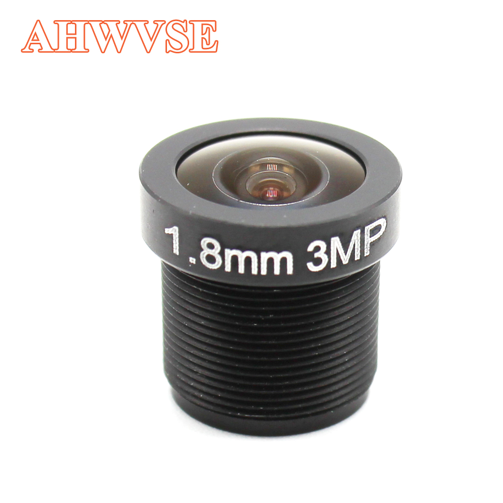 2.8mm 1.8mm 3.6mm CCTV Lens F2.0 M12*0.5 Wide View Fisheye Lens M12 Mount Compatible Wide Angle CCTV Lens
