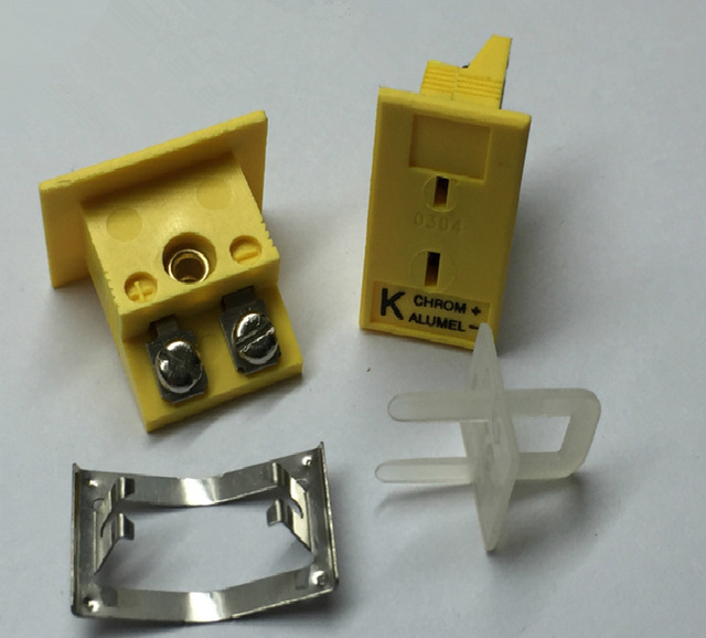 Original k Type Thermocouple Socket K type Thermocouple Panel Socket MPJ K F Pannel Thermocouple Connector in Temperature Instruments from Tools