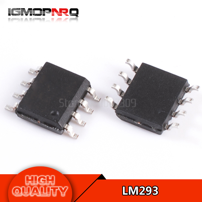 10pcs free shipping LM293 LM293DR SOP-8 Comparators 2-36V Dual -25 to 85 deg C n