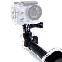 Remote Pole Handheld Monopod With WIFI Remote Housing Mount Tripod Mount Adapter For Gopro Hero 3