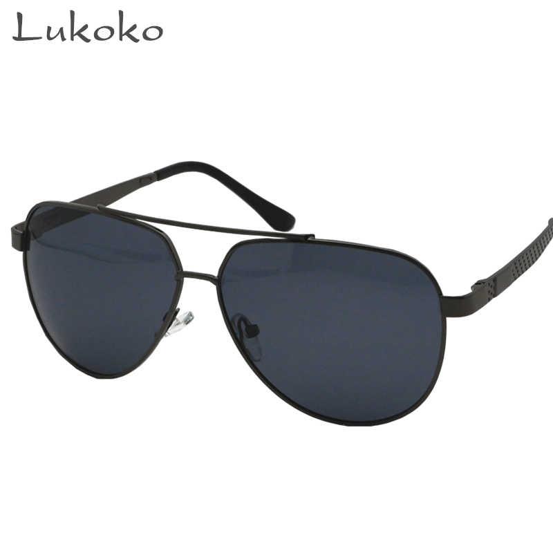 6aec0cc353f Lukoko Gozluk Erkek Sun Fishing Polarized Glasses Men Driver Oculos Aviador  Masculino Mens Sunglasses Brand Designer