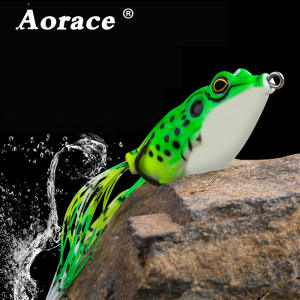 1PC 5g-15g Soft Tube Bait Japan Plastic Frog Soft Fishing Lures Treble Hooks Topwater Ray Frog 4CM-6CM Artificial Soft Bait