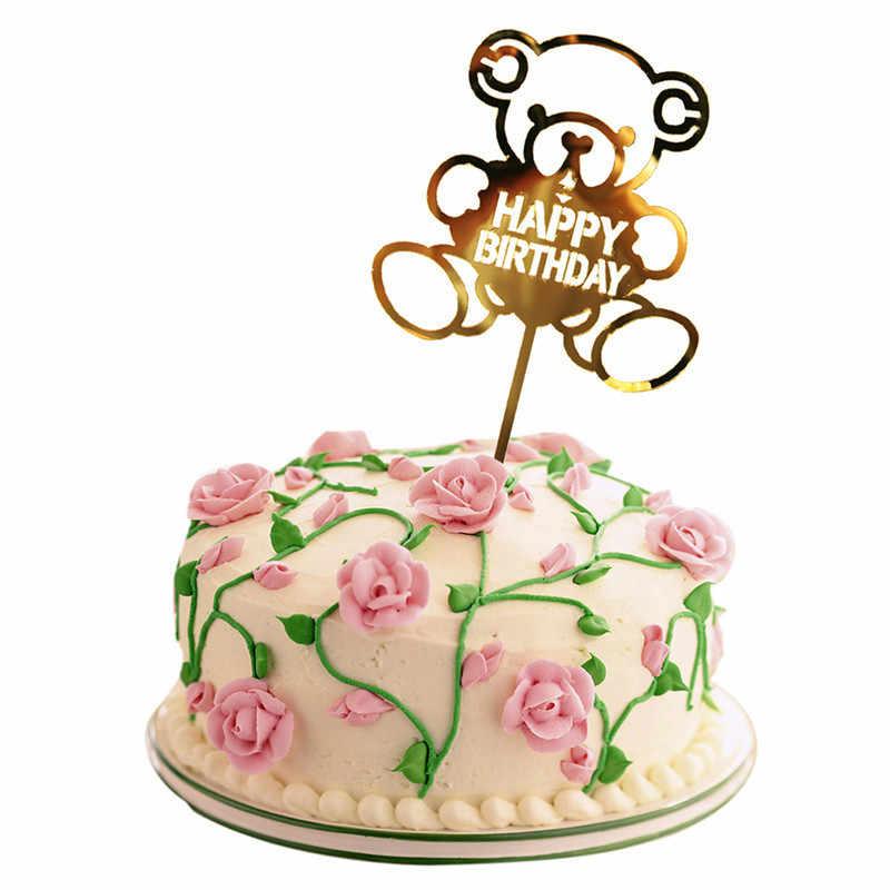 29 тип С Днем Рождения Торт Топперы с изображением пирожного на день рожденья обертка свадебный торт Топпер торт поставки День благодарения рождественские украшения