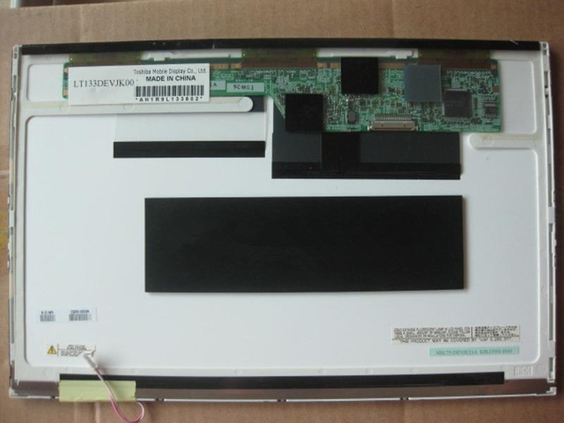 LCD Screen LAPTOP For TOSHIBA Fujitsu S6410 S6420 S6421 LT133DEVJK00 13.3 InchWXGA NRL75-DEVJK11A Notebook Display Replacement
