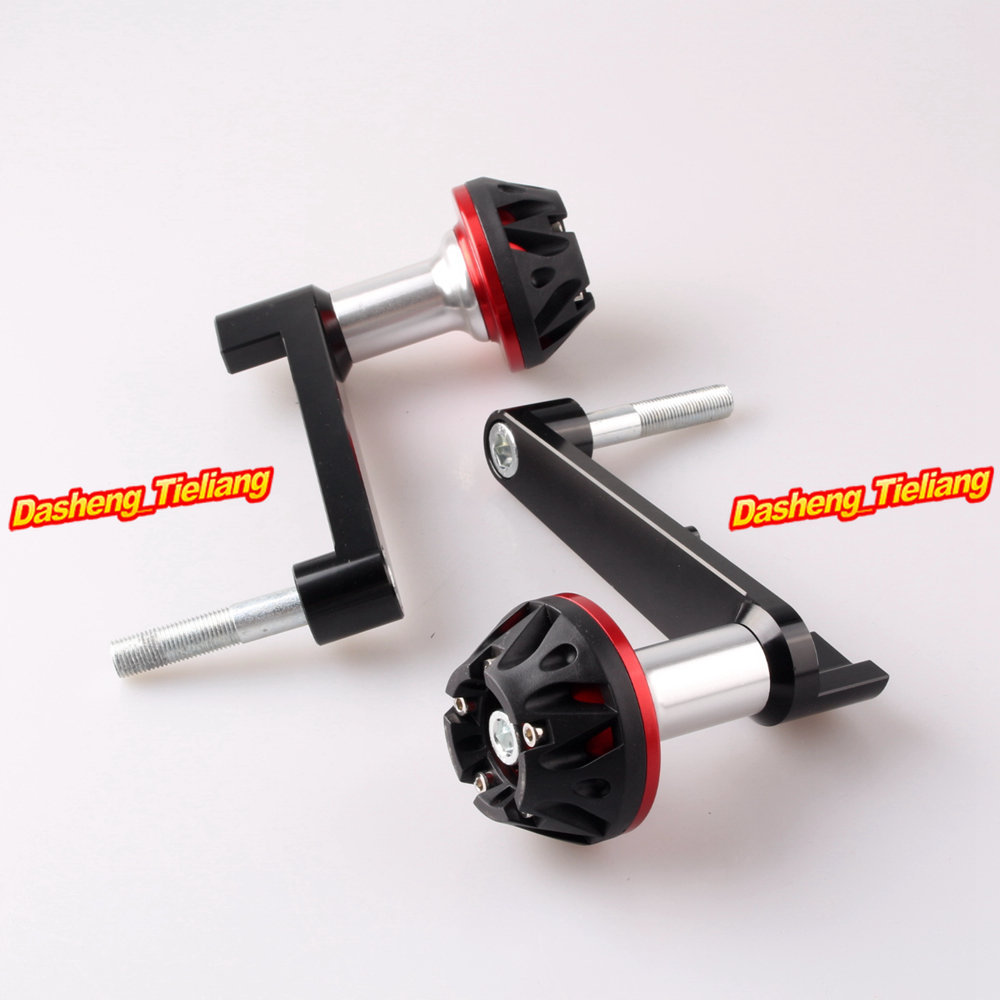 For Honda CBR 1000RR Frame Sliders Crash Pads Protector 2008 2009 2010 2011 2012 2013 CNC Aluminum Alloy, Red for honda cbr 1000rr cbr1000rr 2008 2009 2010 2011 gold motorcycle frame slider crash protector bobbins falling protection