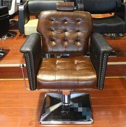 Europejskiej salony fryzjerskie dedykowane fotel fryzjerski krzesło do strzyżenia przywracając dawne sposoby