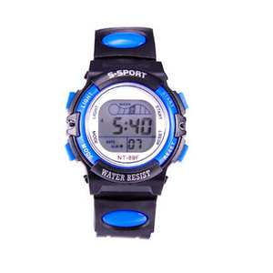 Wrist-Watch Alarm Sports Children LED Digital Wholesale Date Multi-Functional Luminous