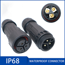 Assembly Waterproof Connector IP68 25A 7-10.5mm 3-12 Male and Female Motor Waterproof Plug Led Light Aviation Connectors