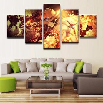 Rahmen 5 Panels Moderne Leinwand Kunstwerk Ein Stuck Poster Leinwand Wand Kunst Bild Home Dekoration Wohnzimmer Leinwand Drucken