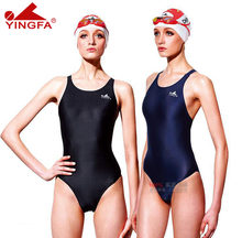 Yingfa 2019 new genuine british female models emit chemicals race bo professional printing triangular piece swimsuit 938(China)