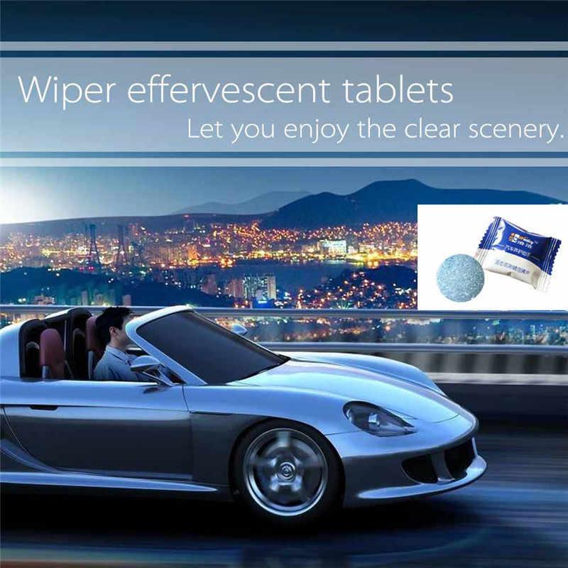 Pcs = 1 4L Azul Brisa Do Carro Do Veículo de Limpeza Acessórios Do Carro Limpador De Vidro Do Carro Limpador Bom Limpador Sólida Auto Carro limpeza de janelas