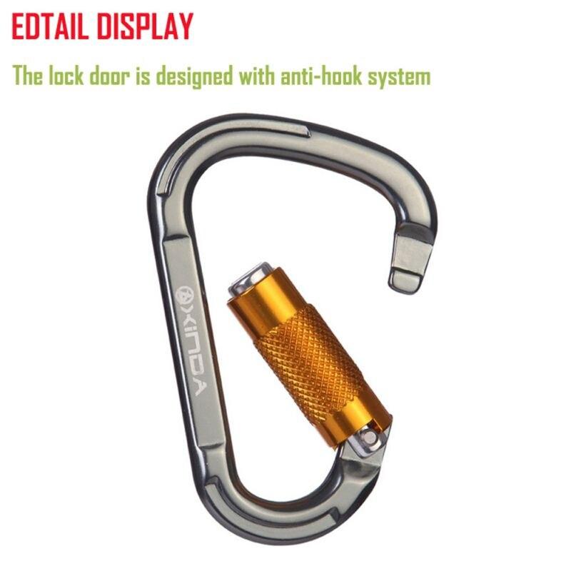 Safety Locks Climbing Carabiner Professional Climbing Buckle Quickdraws Lock