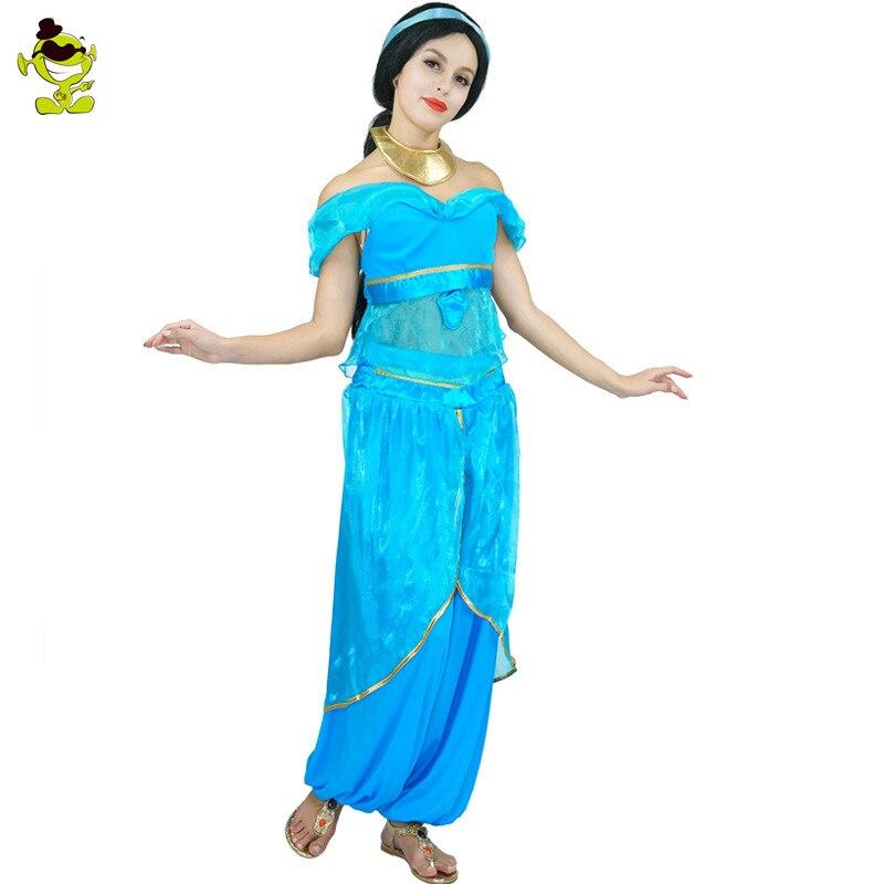 6e5319e978 Arabian Night Kostium W Stylu Vintage Arab Dubai kobiet Letnia Sukienka  Karnawał Halloween Kostiumy Taniec Brzucha Cosplay w Arabian Night Kostium  W Stylu ...